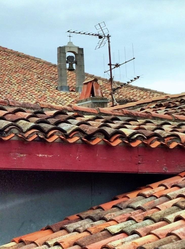 Vue des toits de Saint-Jean de Luz
